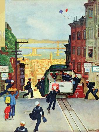 mead-schaeffer-san-francisco-cable-car-september-29-1945