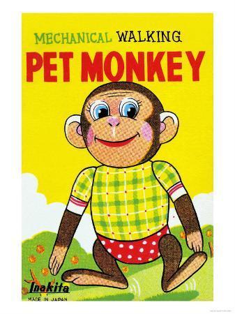 mechanical-walking-pet-monkey