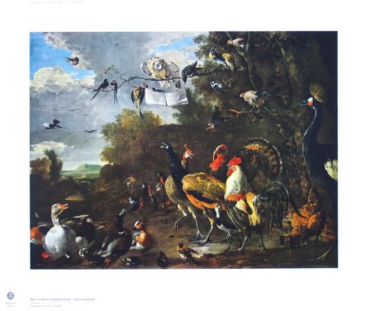 melchior-de-hondecoeter-bird-concert