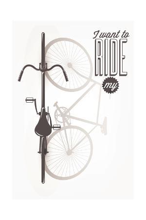 melindula-typographical-illustration-bicycle-poster