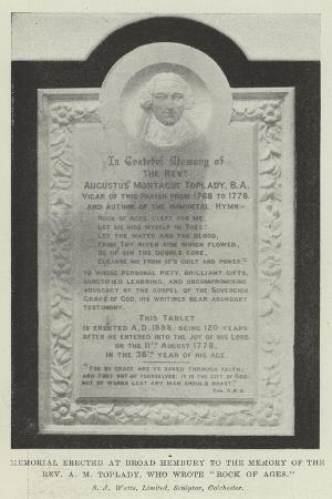 memorial-erected-at-broad-hembury-to-the-memory-of-the-reverend-a-m-toplady-who-wrote-rock-of-ages