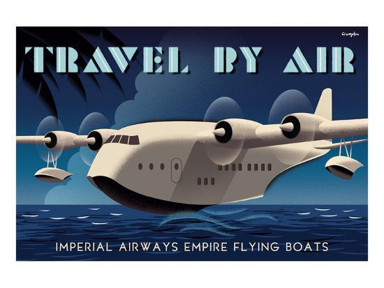 michael-crampton-travel-by-air-imperial-airways-empire-flying-boat