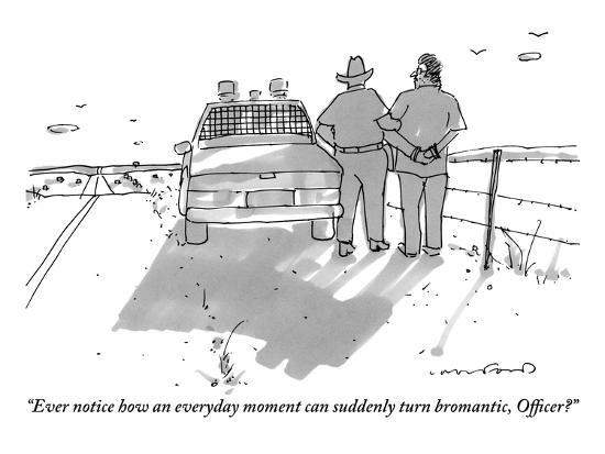 michael-crawford-ever-notice-how-an-everyday-moment-can-suddenly-turn-bromantic-officer-new-yorker-cartoon