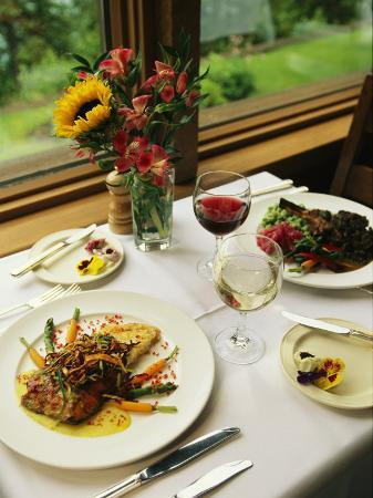 michael-melford-an-attractively-prepared-meal-is-served-at-the-emerald-lake-lodge