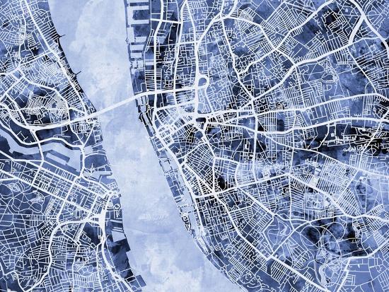 michael-tompsett-liverpool-england-city-street-map