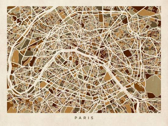 michael-tompsett-paris-france-street-map