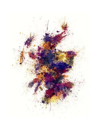 michael-tompsett-scotland-paint-splashes-map