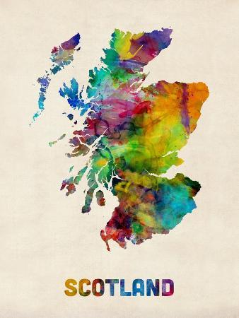 michael-tompsett-scotland-watercolor-map