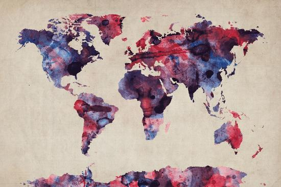 michael-tompsett-world-map-watercolor