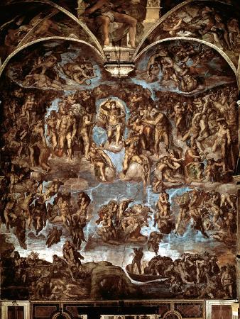 michelangelo-buonarroti-sistine-chapel-the-last-judgement-1538-41