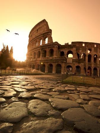 michele-falzone-colosseum-and-via-sacra-sunrise-rome-italy