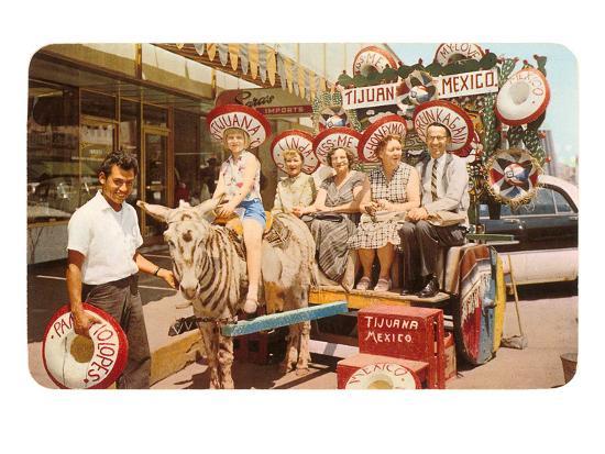 midwesterners-in-zebra-cart-tijuana-mexico