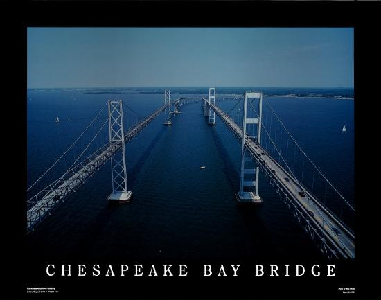Chesapeake Bay Bridge Art Print By Mike Smith At Art Com