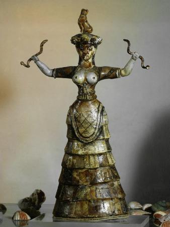 minoan-earthenware-figure-of-snake-goddess-1700-1400-bc