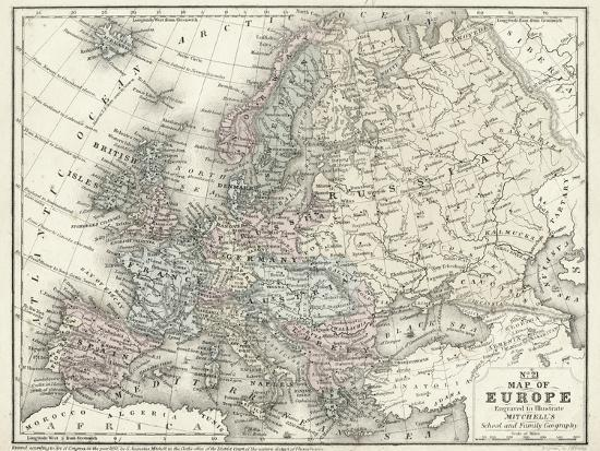 mitchell-s-map-of-europe