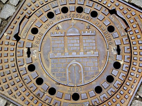 miva-stock-manhole-cover-with-hamburg-s-coat-of-arms-hamburg-germany
