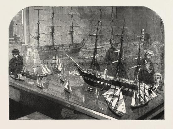 model-of-a-fleet-of-vessels-on-the-philadelphia-exhibition