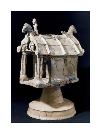 model-of-chapel-terracotta-sculpture-from-sabucina-at-caltanissetta-italy