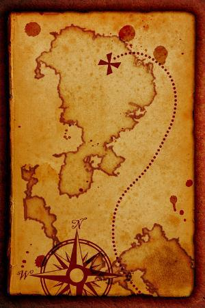 molodec-old-map-with-a-compass-on-it