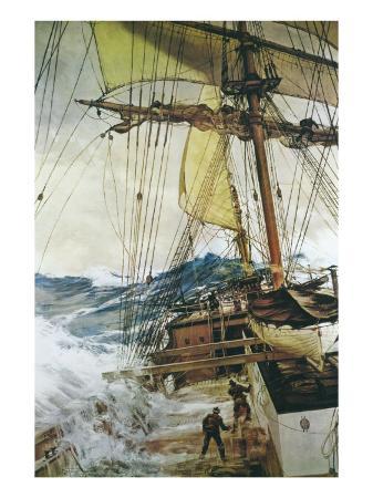 montague-dawson-rising-wind