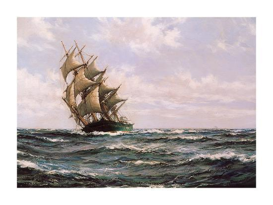montague-dawson-the-green-clipper-matilda-wittenbach