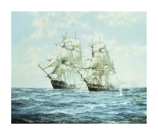 montague-dawson-the-president-and-the-little-bell