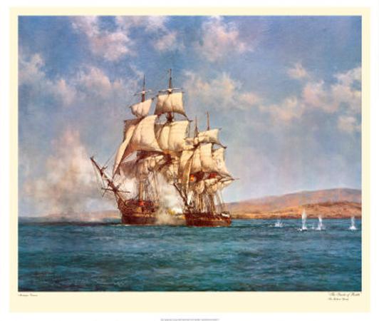 montague-dawson-the-smoke-of-battle