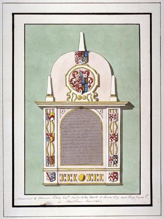 monument-to-edmund-tilney-st-leonard-s-church-streatham-london-c1800