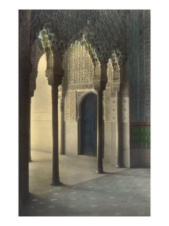 moorish-arches-alhambra-granada-spain