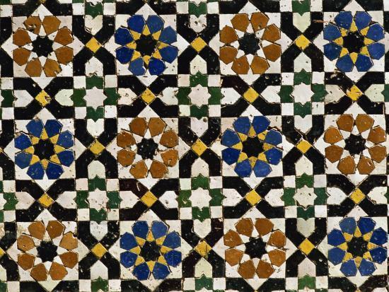 morandi-bruno-mosaic-tilework-zaouia-moulay-idriss-an-islamic-shrine-fes-el-bali-fes-morocco