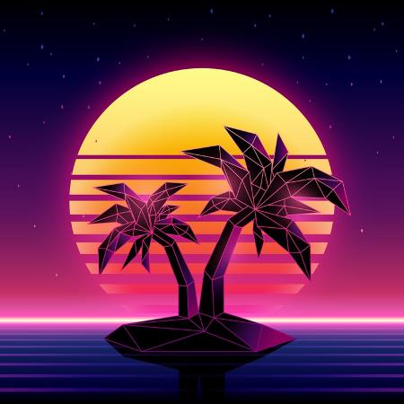 more-trendy-design-here-retro-futuristic-background-1980s-style-digital-palm-tree-on-a-cyber-ocean-in-the-computer-world