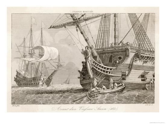 morel-french-warships-at-anchor