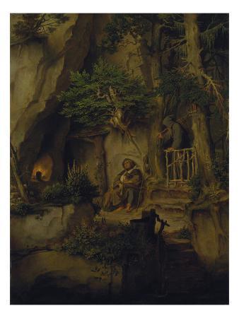moritz-von-schwind-the-minstrel-and-the-hermit-about-1846