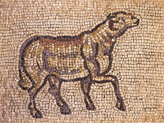 mosaic-depicting-ram-or-sheep-from-jieh-the-old-porphyrion-lebanon
