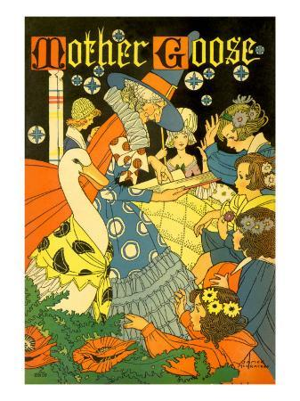 mother-goose-reads