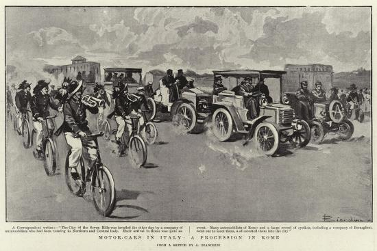 motor-cars-in-italy-a-procession-in-rome