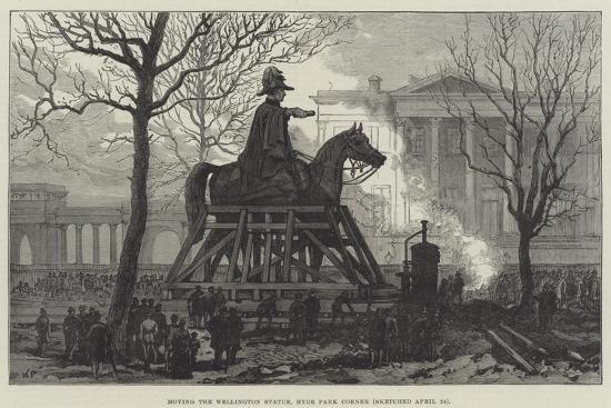 moving-the-wellington-statue-hyde-park-corner