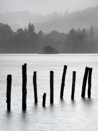 nadia-isakova-remains-of-jetty-in-the-mist-derwentwater-cumbria-england-uk