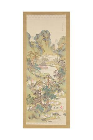 nakabayashi-chikkei-poetry-gathering-at-the-orchid-pavilion-ink-colour-and-gofun-on-silk