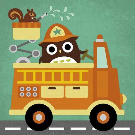 nancy-lee-owl-in-firetruck-and-squirrel