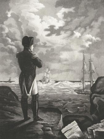 napoleon-meditant-a-sainte-helene