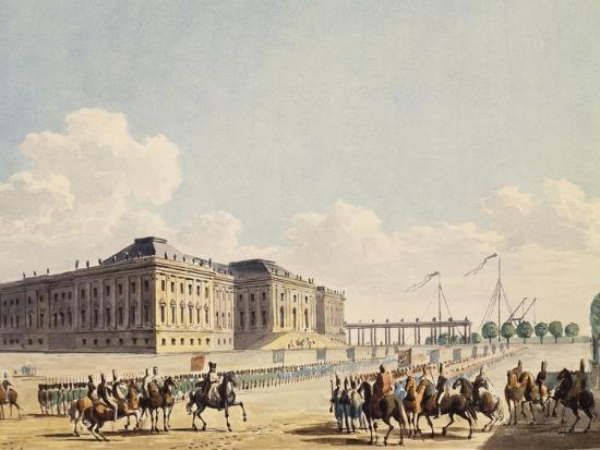 napoleon-meeting-prussian-king-in-potsdam-napoleonic-era-germany