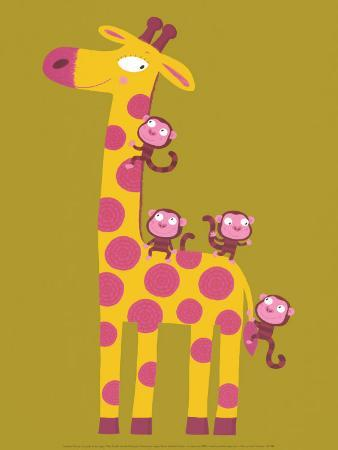 nathalie-choux-the-giraffe-and-the-monkeys