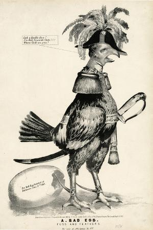 nathaniel-currier-a-bad-egg-fuss-and-feathers-1852