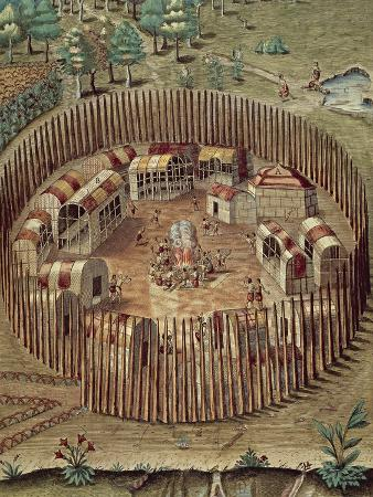 native-american-fortified-village-in-virginia-1585-1588