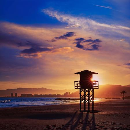 naturewolrd-cullera-playa-los-olivos-beach-sunset-in-mediterranean-valencia-at-spain
