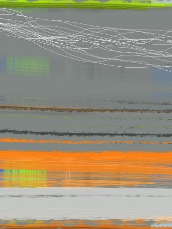 naxart-abstract-orange-stripe1