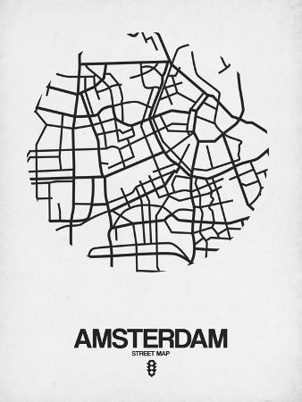 naxart-amsterdam-street-map-white