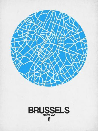 naxart-brussels-street-map-blue