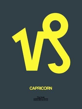 naxart-capricorn-zodiac-sign-yellow